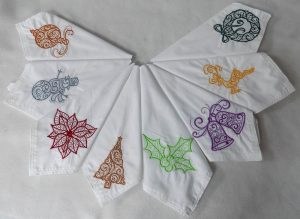 Crafting Holiday at Home – Tudor Rose Patchwork